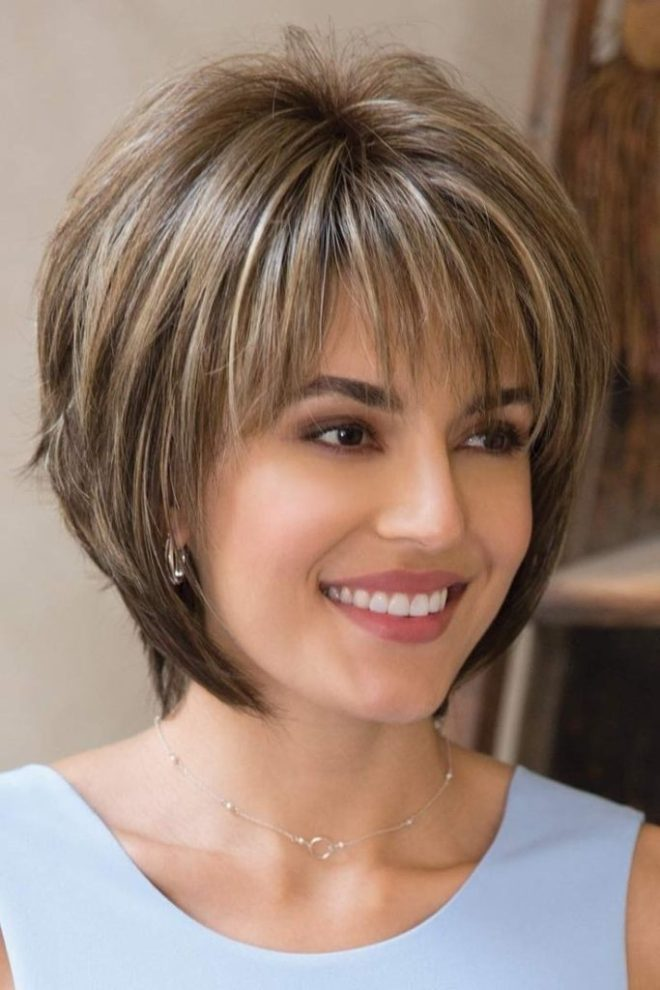 Light Brown Short Hairstyle