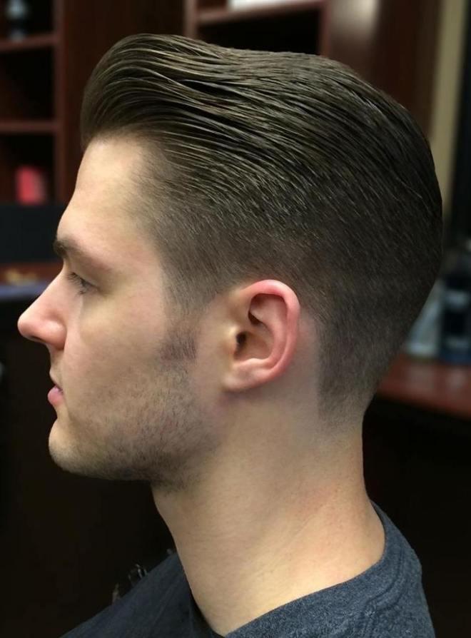 Classic Slick Back Haircut