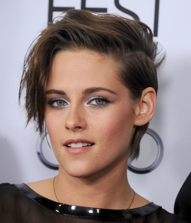 Side Part Short Hairstyle