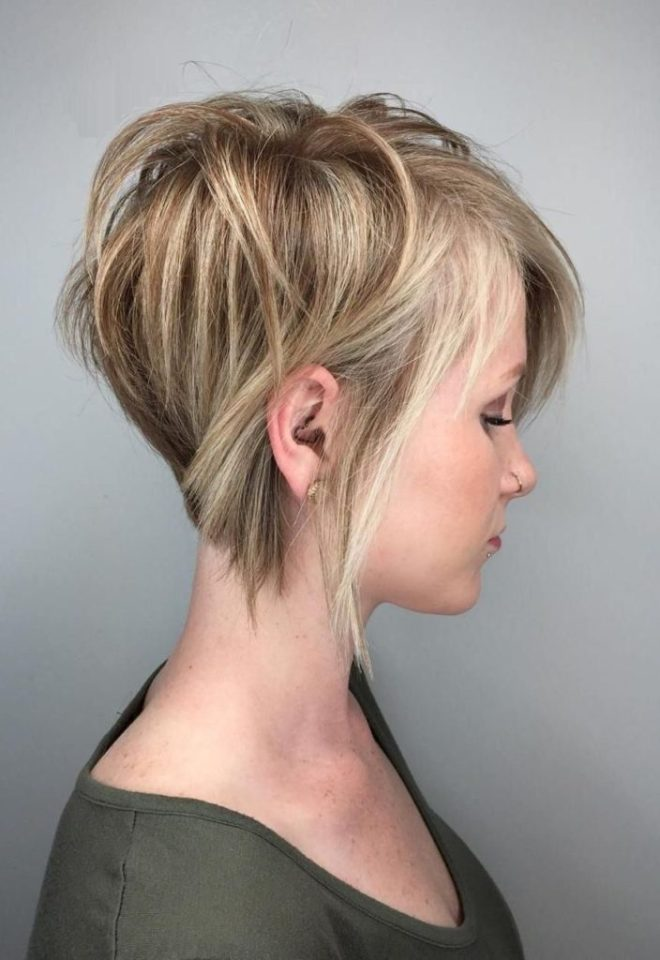 Choppy Layered Hairstyle