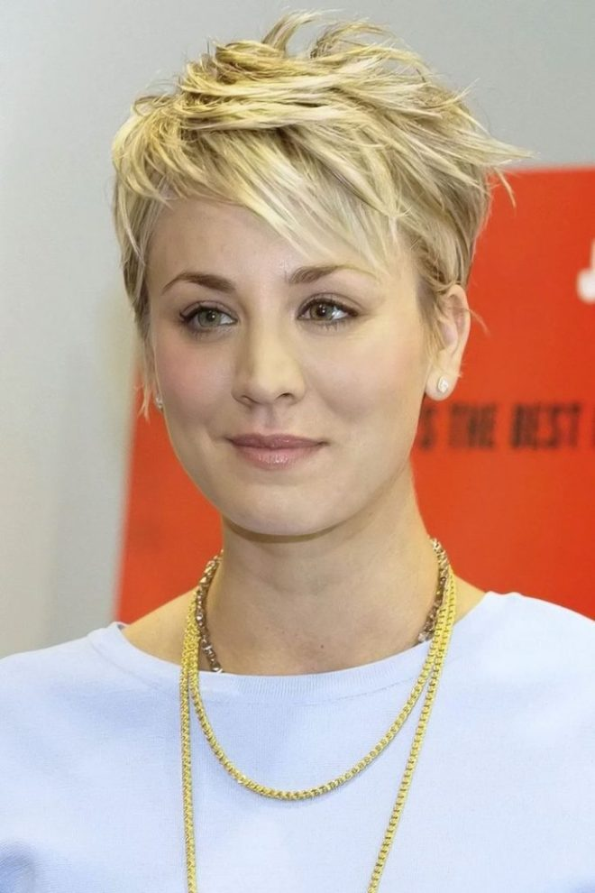 Pixie Cuts Messy Hairstyle