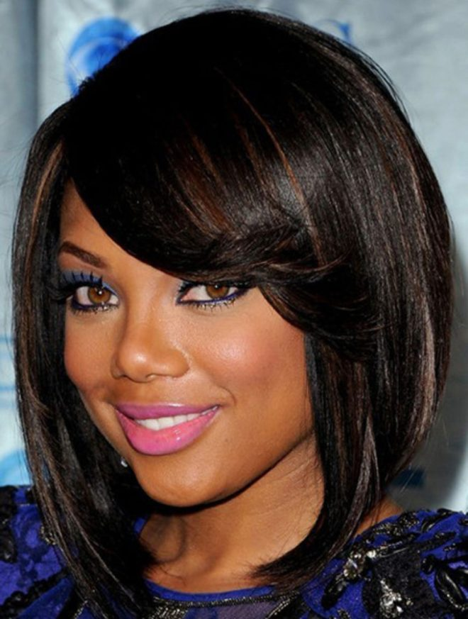 Highlighted Bob Hairstyle