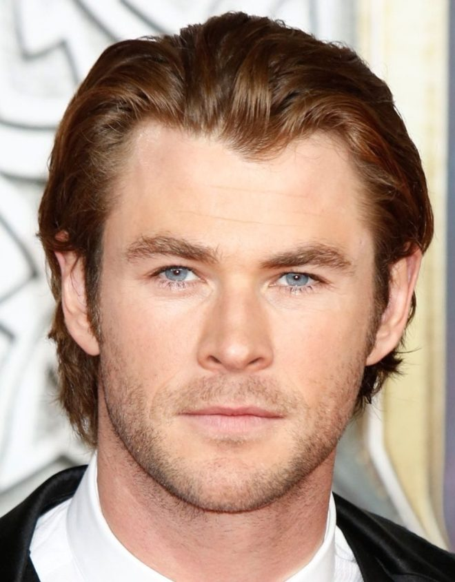 Comb Over Medium Hairstyle