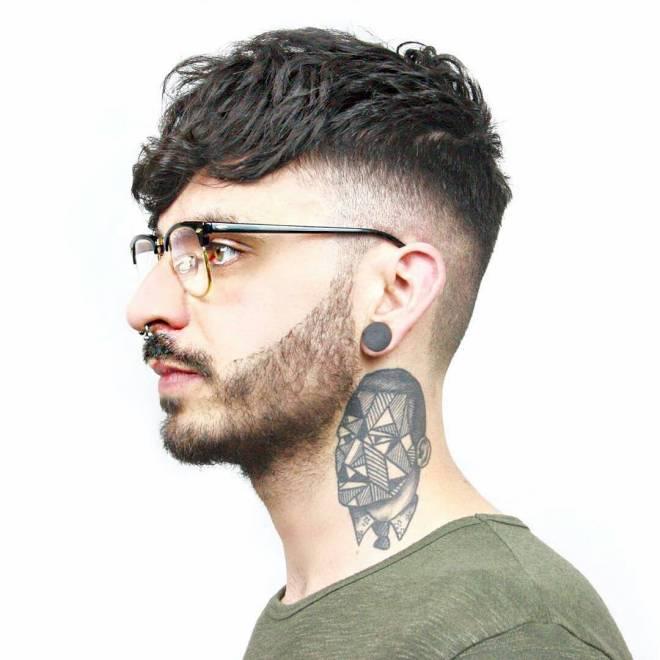 Undercut Fringe Hairstyle