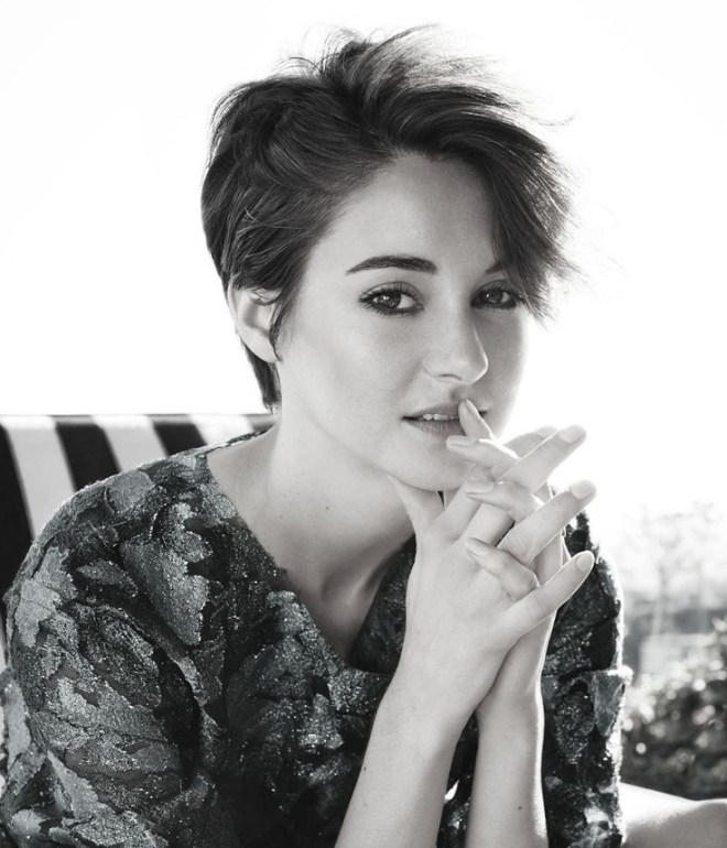 Side Swept Short Hairstyle