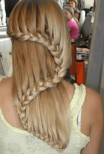 Waterfall Braids Looks On HEG Celebrity Hair Styles