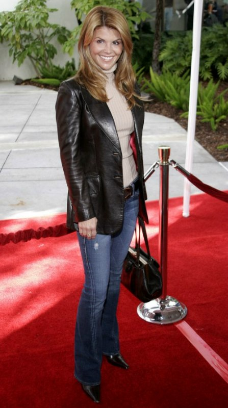 Lori Loughlin Careless Straight Long Hairstyle With