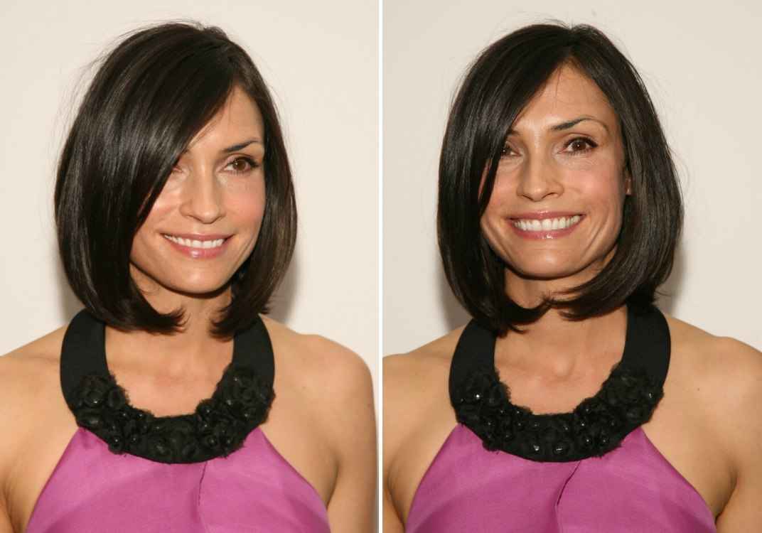 Diane Kruger Famke Janssen Chin Length Bob With Off