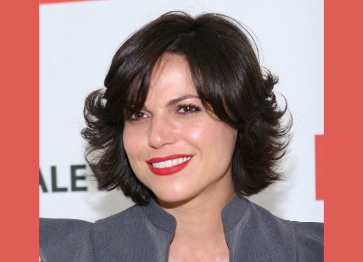 Shanna Collins Long Hair And Lana Parrilla Sporting A