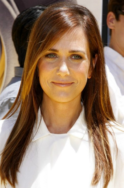 Kristen Wiig Long Way Past Shoulder Length Hair For