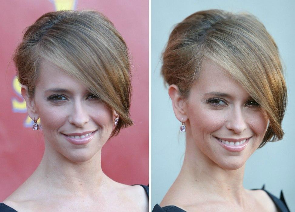 Jennifer Love Hewitt Katee Sackhoff Sporty Shag Haircut