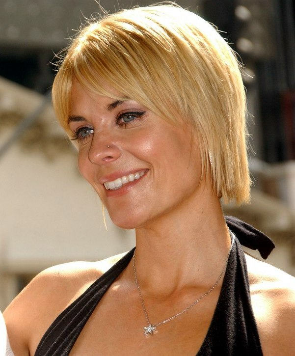 McKenzie Westmore With Neck Length Short Hair