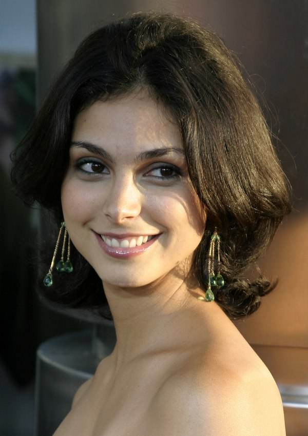 Morena Baccarins Medium Length Hair With The Back