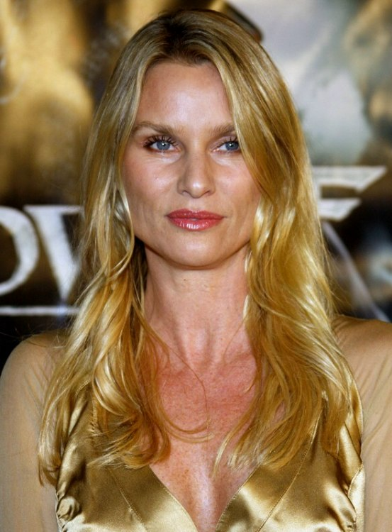 Nicollette Sheridan With Long Golden Blonde Hair And
