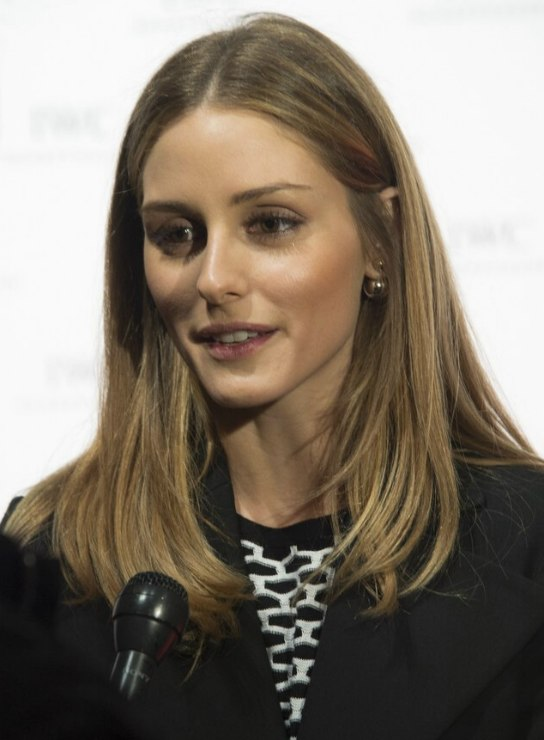 Olivia Palermo Wearing Her Hair In A Sleek And Simple