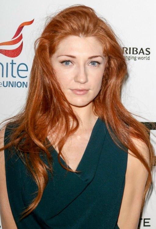 Nicola Roberts Long Red Hair That Compliments The Color