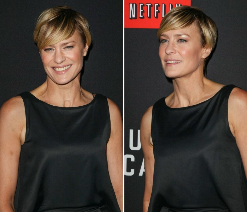 Robin Wright Pixie For Women Of A Certain Age With