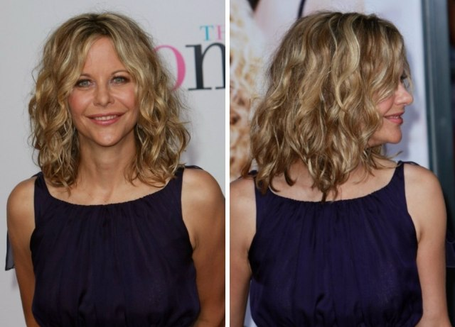 cutting techniques for meg ryan's tousled out of bed look