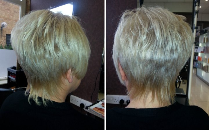 Reverse Graduation Haircutting Technique