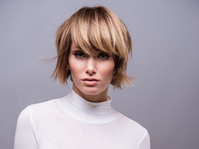 Image Result For Short Layered Bob Hairstyles With Fringe