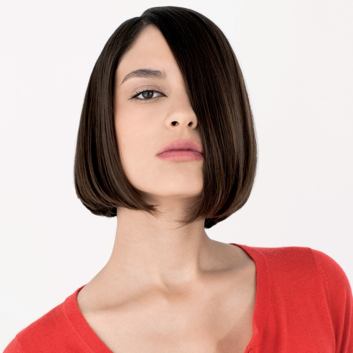Smooth Bob With Undercut To Help It Turn Inward