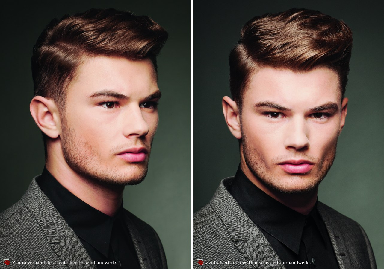 Hair Fashion For Men Neat Professional Hairstyle With