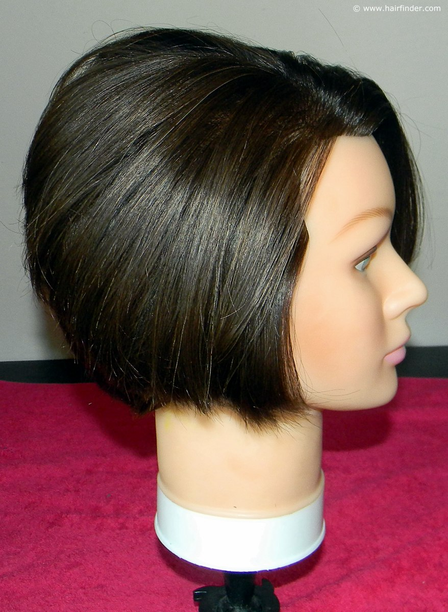 How To Blow Dry A Short Inverted Or Angled Bob