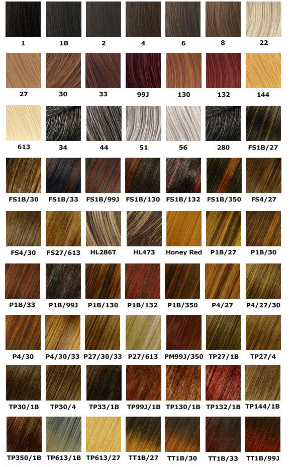 Wella Professional Hair Color Chart