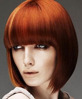 Auburn, Blonde and Funky Hair Color Ideas