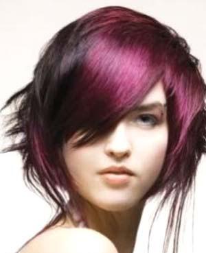 Auburn Blonde And Funky Hair Color Ideas