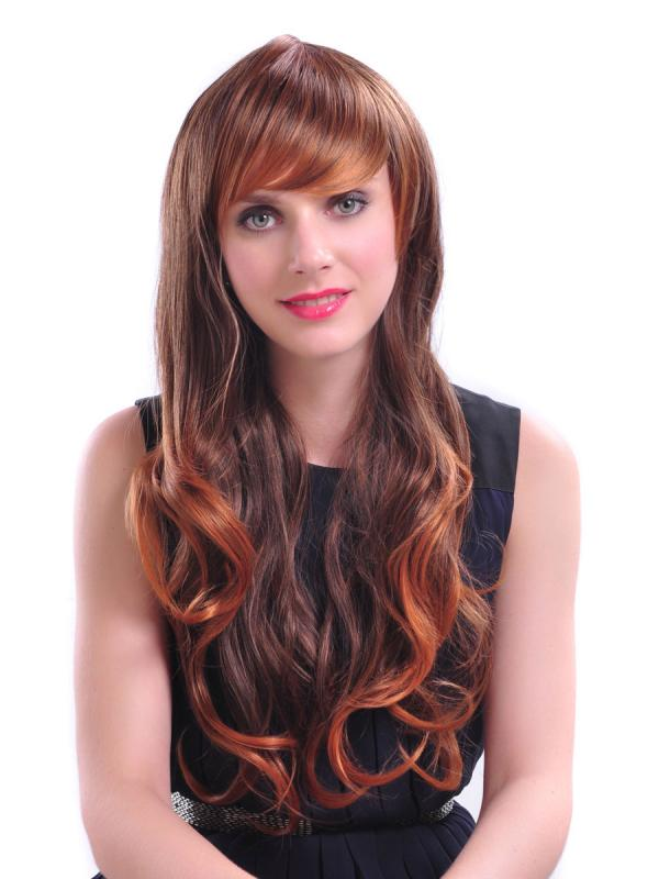 Colored Hair Highlights
