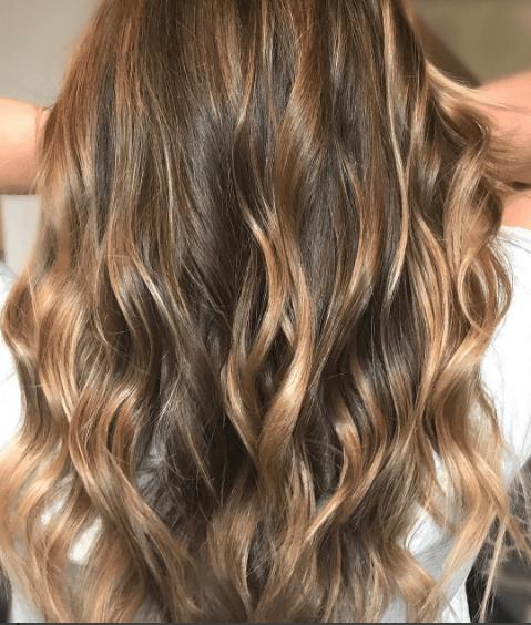 honey hair highlights