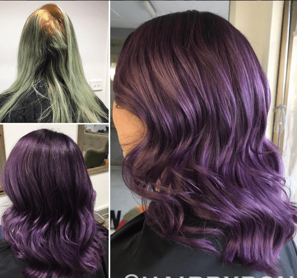 18 Purple And Violet Hair Highlights Ideas For You