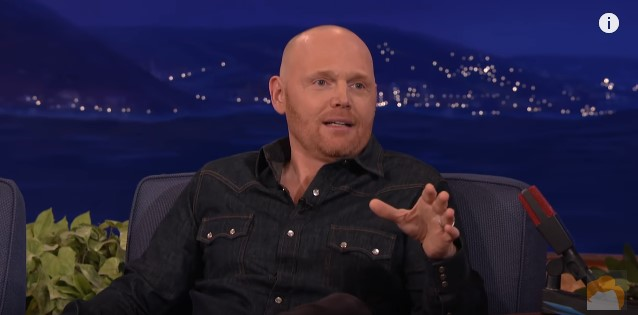 Bald Comic Bill Burr Offers Funny, Inspirational, No-BS