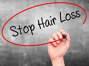 stop female hair loss