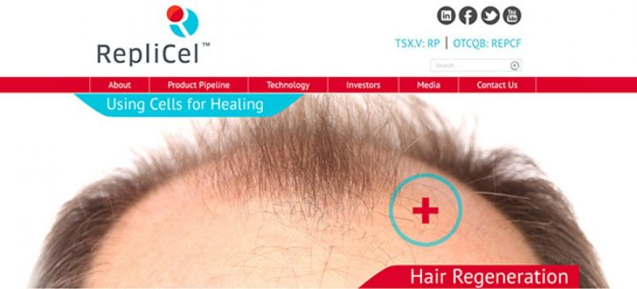 Replicel A Cure To Hair Loss You