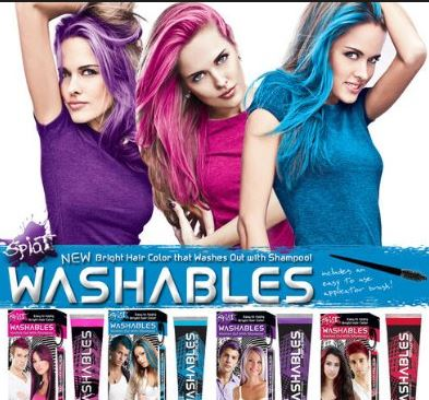 wash out hair dye best brands pink red and black washable hair colors hair mag