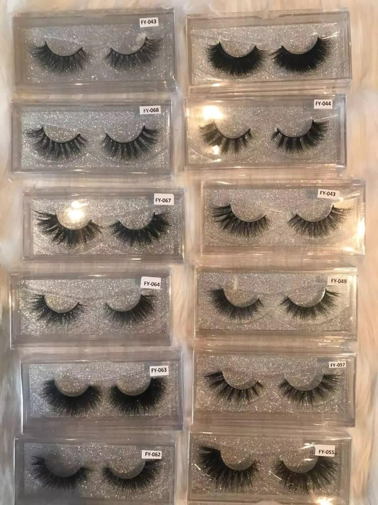 Eyelashes all styles