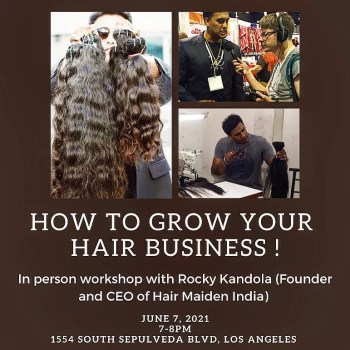 how to grow your hair business