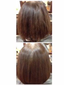 髪の乾燥予防にサロントリートメントケアがオススメです。