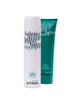 Balance shampoo en balance mask