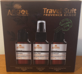 Dancoly Orange Flower Travel Suite For Coloured Hair
