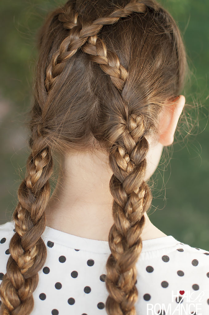 Back To School Hairstyles The Braided Bubble Ponytail