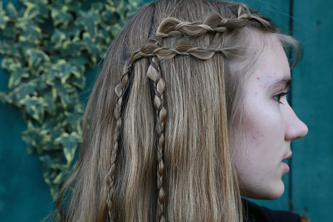 Viking Inspired Braids With How To Hair Girl Hair Romance