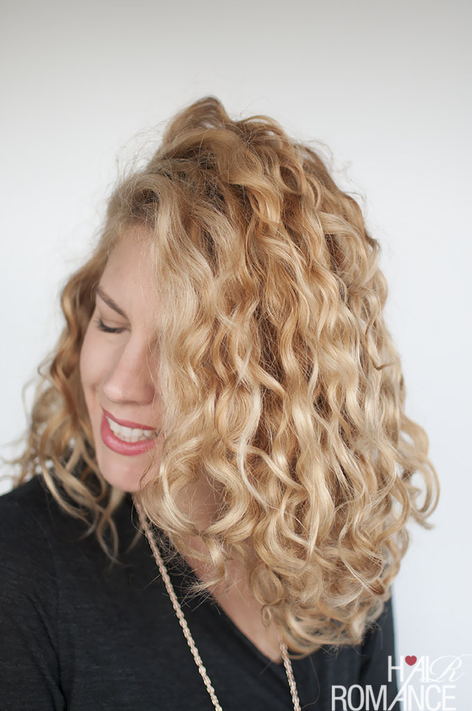 How To Style Curly Hair For Frizz Free Curls Video