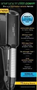 Infiniti Pro by Conair Professional 2 Inch Tourmaline Ceramic Flat Iron review