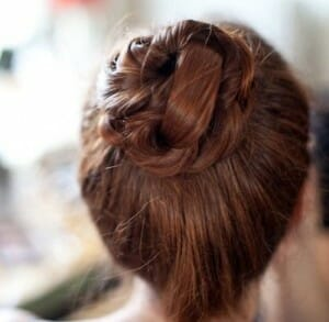 Sonya Benham hair cut