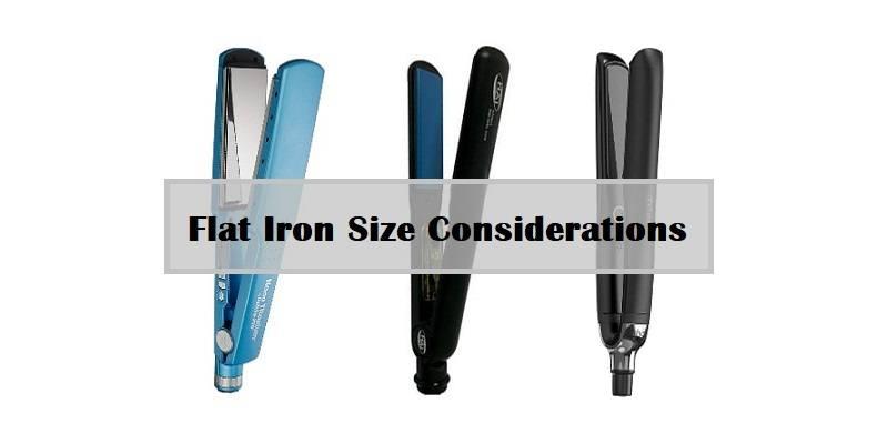 Flat Iron Size Considerations