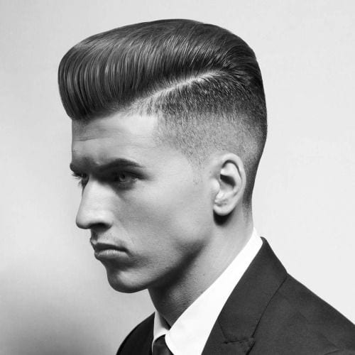 Fade Pompadour Hair Fashion