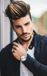 Hottest High Fade Pompadour Hairstyle Worth Trying